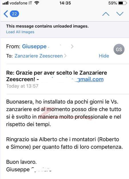 zanzariere su misura a Roma