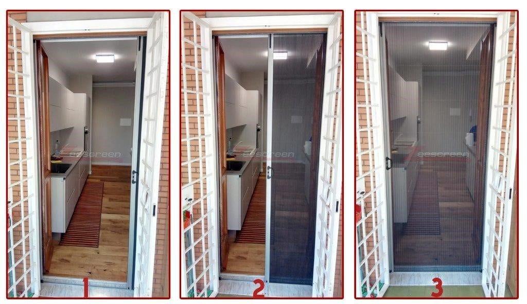 zanzariere per porta finestra a roma