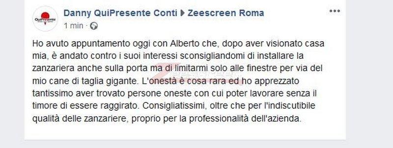 opinioni zanzariere a roma