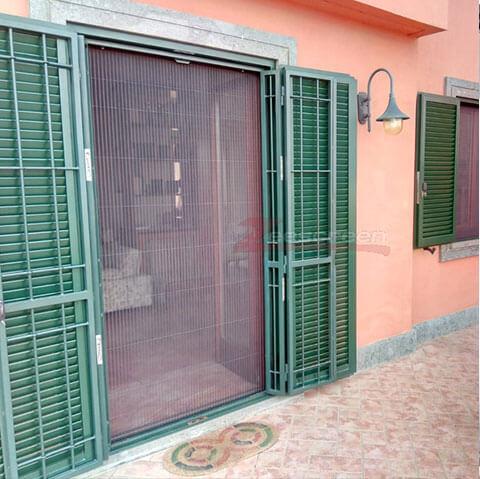 porta zanzariera terrazzo