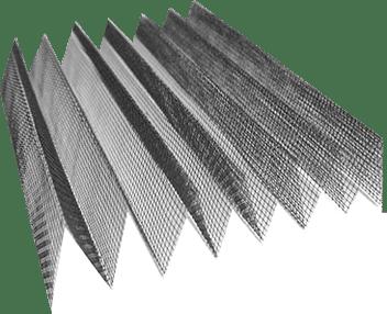 rete plissettata
